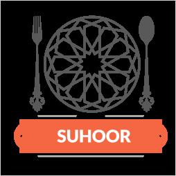 Serving Suhoor